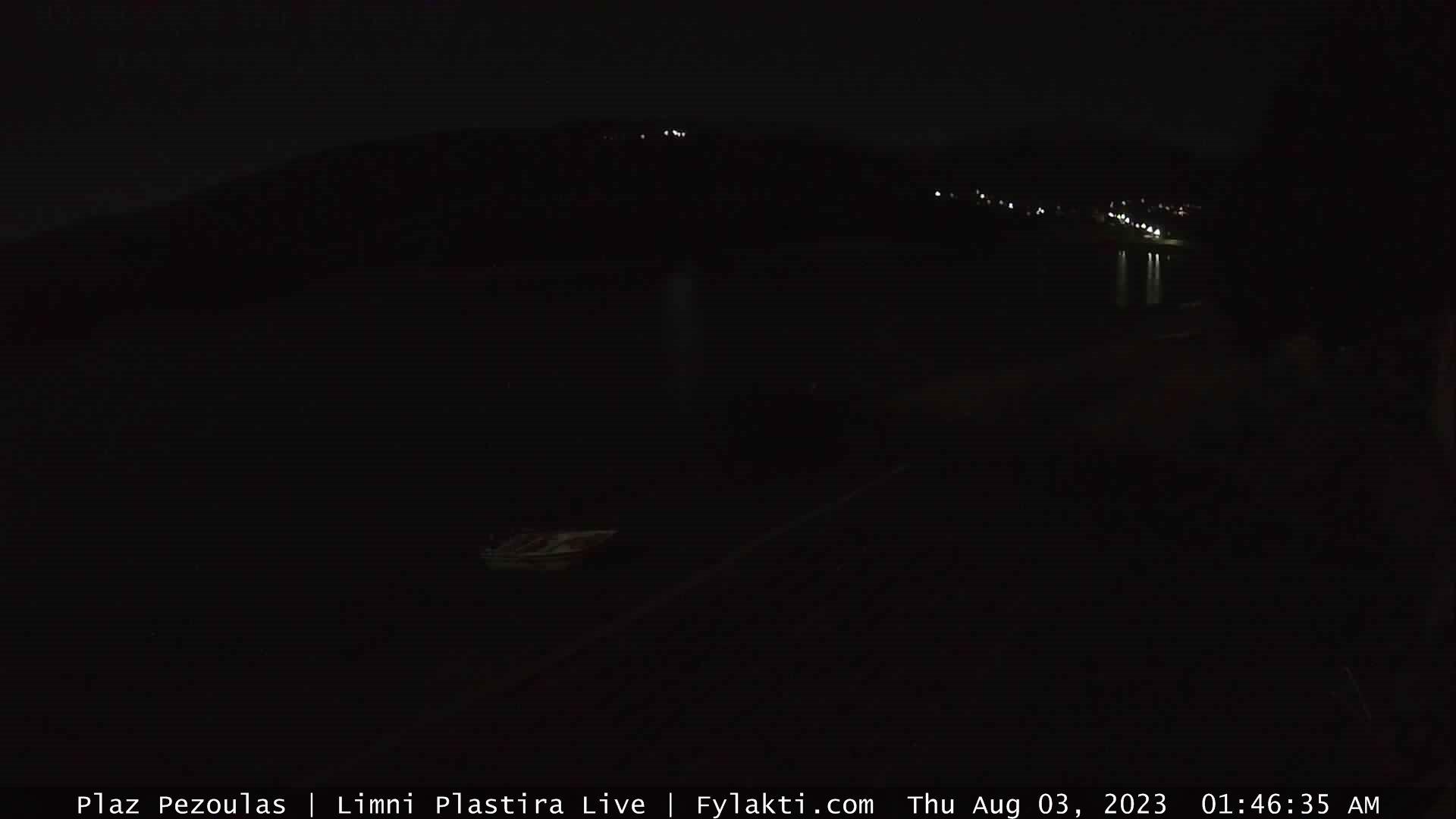 Παρακολουθείτε ζωντανά την πλαζ Λίμνης Πλαστήρα με τη συνεργασία του Καφέ - Εστιατόριο Θεός Απόστολος , με την υποστήριξη του Fylakti.com