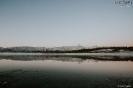 Ξημέρωμα στην παγωμένη Λίμνη Πλαστήρα